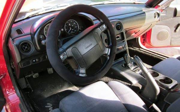 1990 Mazda Miata Interior