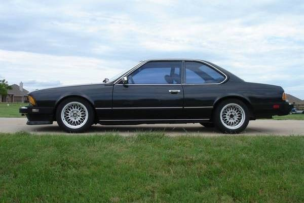 1985 BMW 635CSI: Original Land Shark