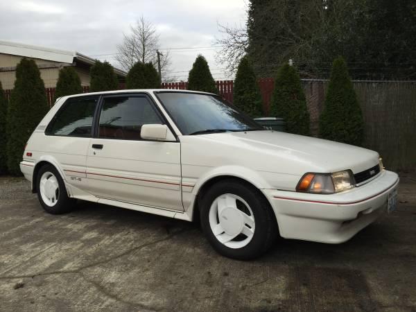 1986 Corolla Fx16 Gts Long Name Short Car