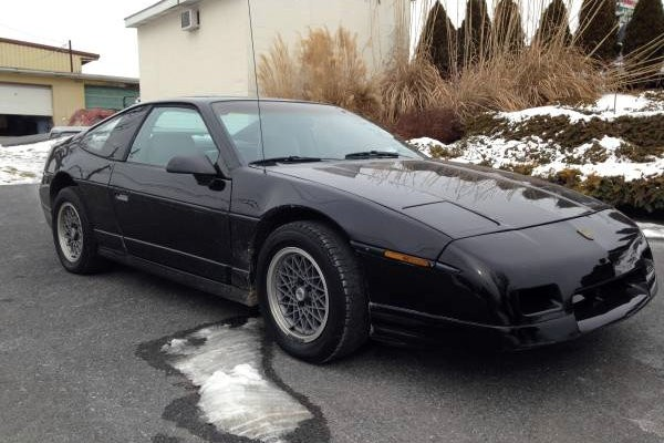 1987 Pontiac Fiero GT: Missed Opportunity