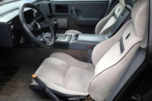 1987 Pontiac Fiero GT Interior