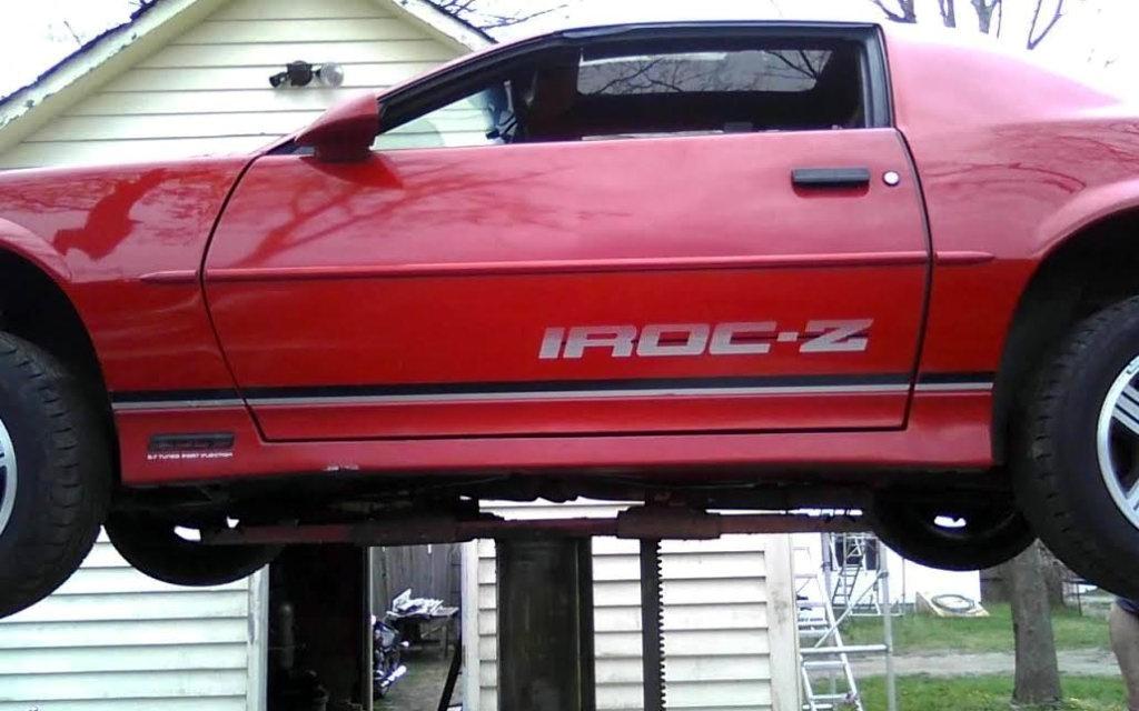 1989 Chevrolet Camaro Iroc Z No Respect