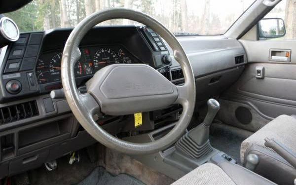 1989 Subaru RX Turbo Interior