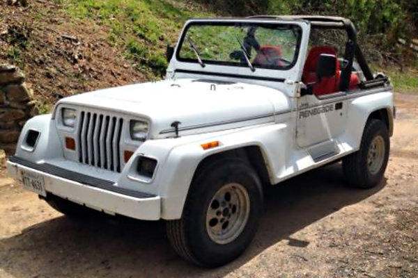 1991 jeep wrangler renegade flared 4 4. Cars Review. Best American Auto & Cars Review