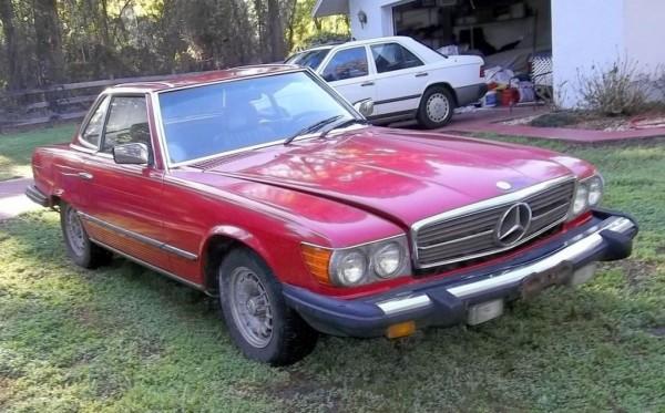 1981 Mercedes-Benz 380SL: Cheap Class