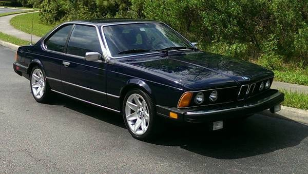 1983 BMW 633CSI: On Schedule