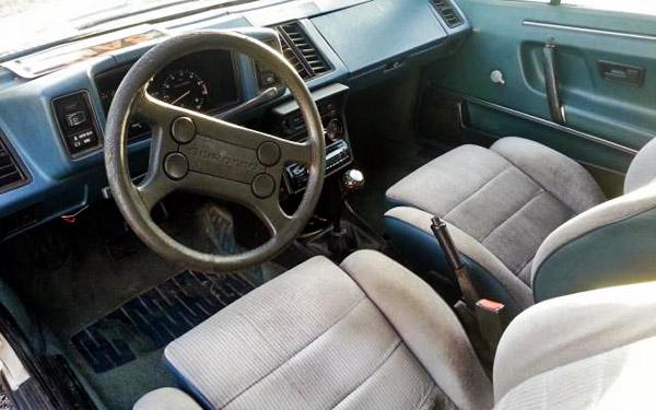 1984 VW Scirocco Interior