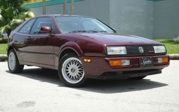 1991 Volkswagen Corrado: Unfortunate Auto