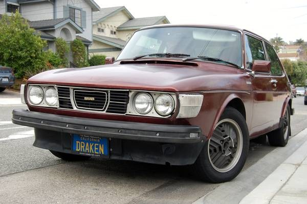 1978 Saab 99 EMS: Well Loved