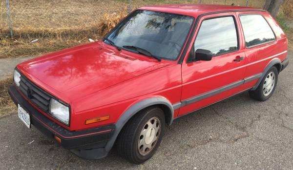 A Modern Classic: 1989 VW GTI 16V