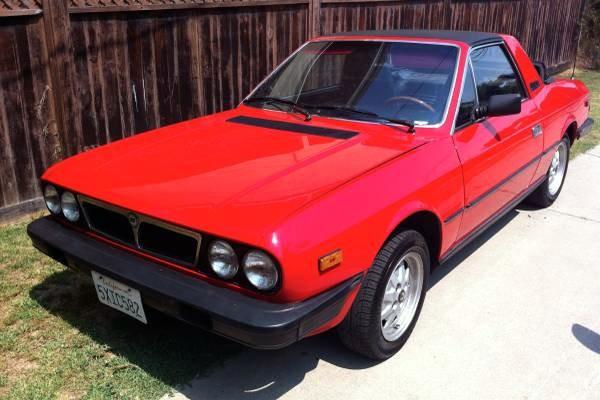 1982 Lancia Beta Zagato: Cheap Flair