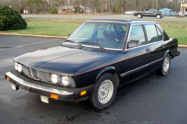 1984 BMW 528e: Q-Ship Ready