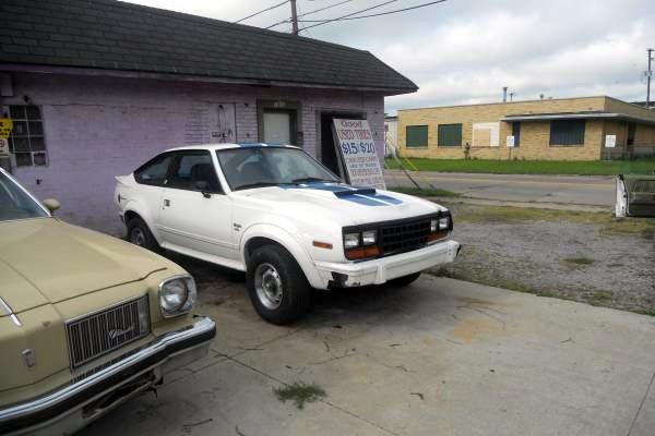 1981 AMC Eagle SX/4: Outdoorsman's Coupe