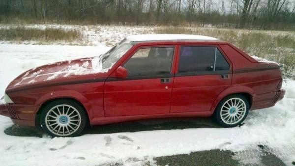 1989 Alfa Romeo Milano: BMW Alternative?