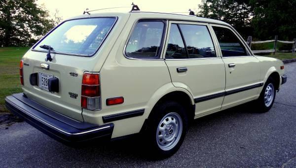 1983 Honda Civic Wagon: Giant Killer